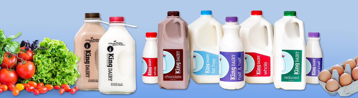 Dairy and other home delivery products - delivered by the Dairy Man of Long Valley right to your NJ home or business!